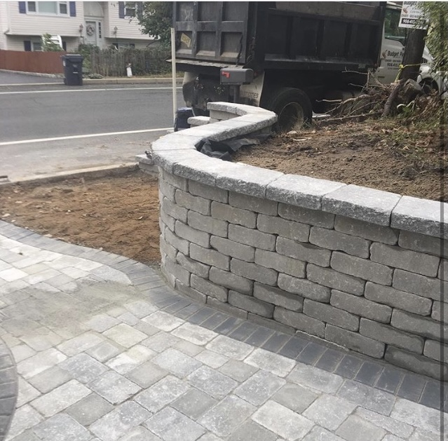Paver Walkways and Patio